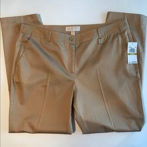 Michael Kors Khaki women's pants. Size 14. NWTO